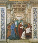 Melozzo da Forli Sixtus IV,his Nephews and his Librarian Palatina (mk08) oil painting picture wholesale